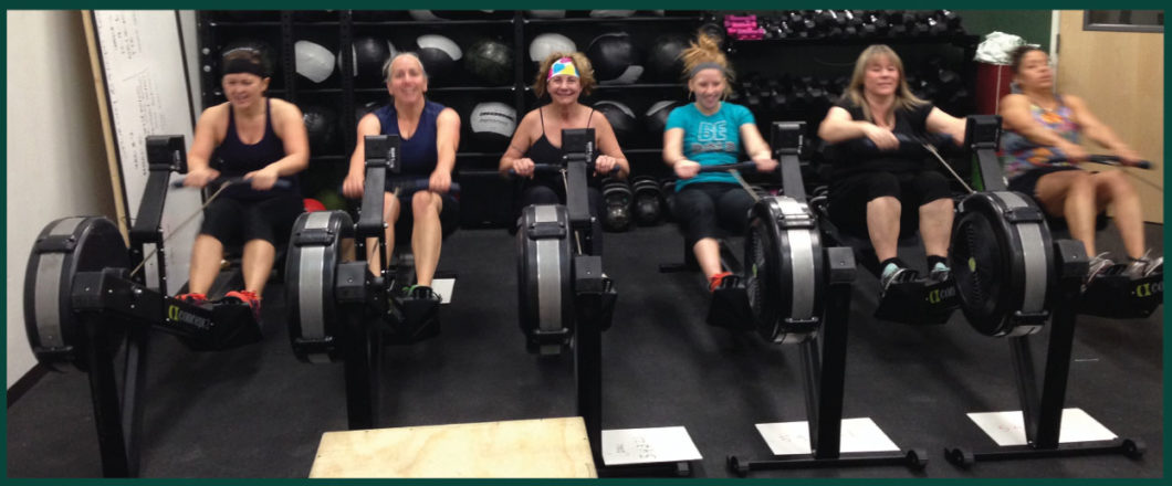 Tough Chicks on Rowers