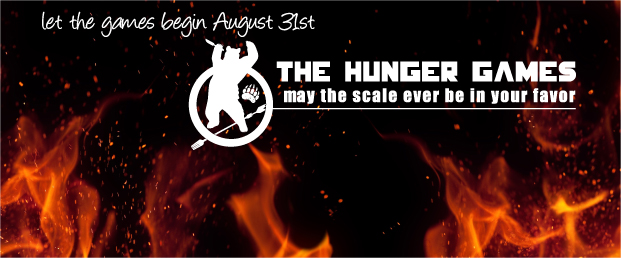 Hunger Games – August 31 – October 30, 2015